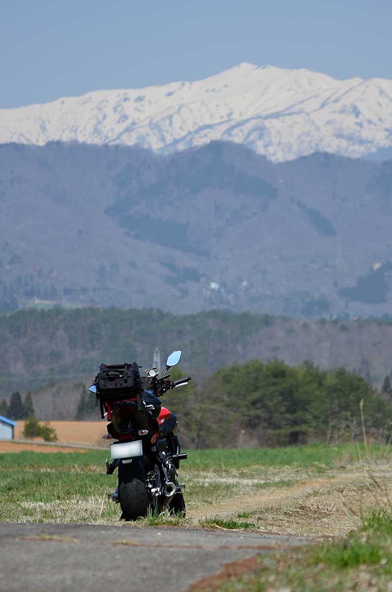MT-07と白山