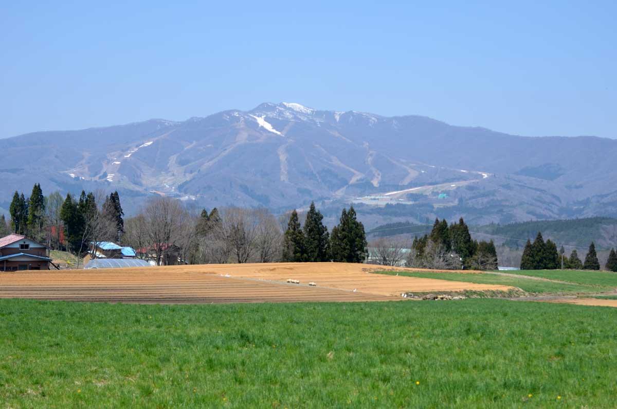 MT-07と大日岳