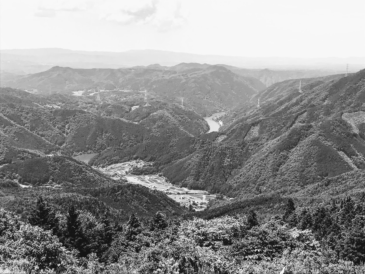 恵那市の笠置山
