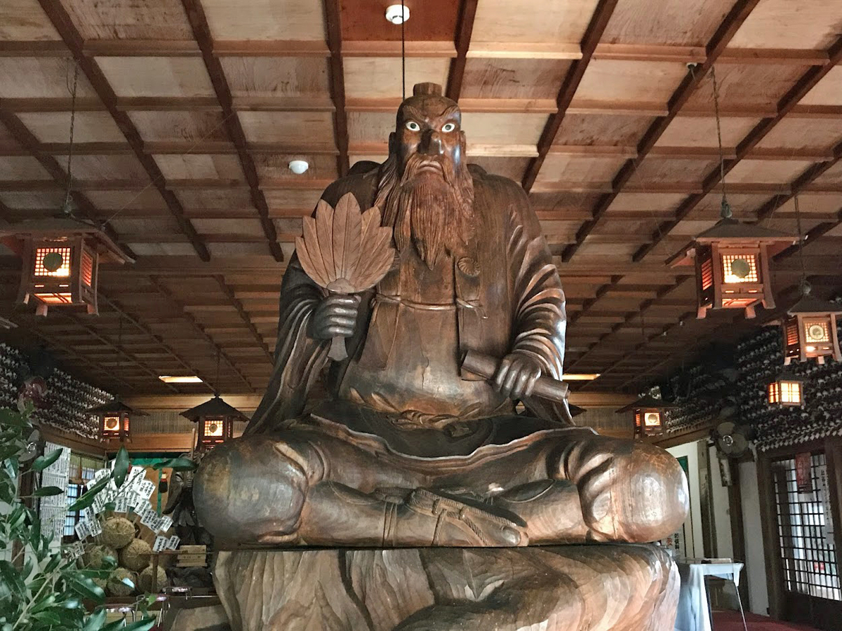 日本一大きい天狗像
