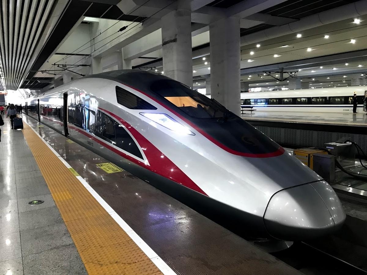 中国版新幹線