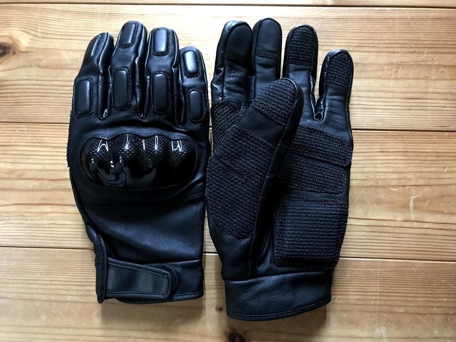 ワークマン バイク用手袋