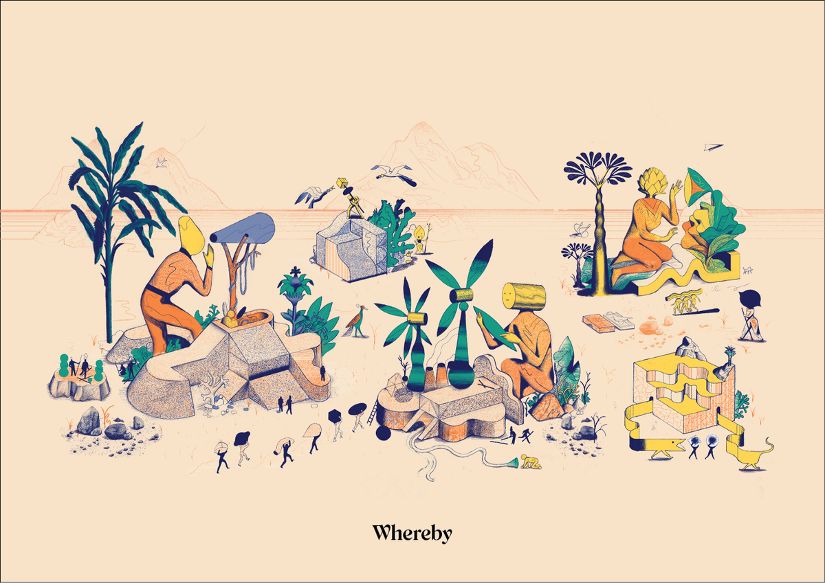 Wherebyの世界観