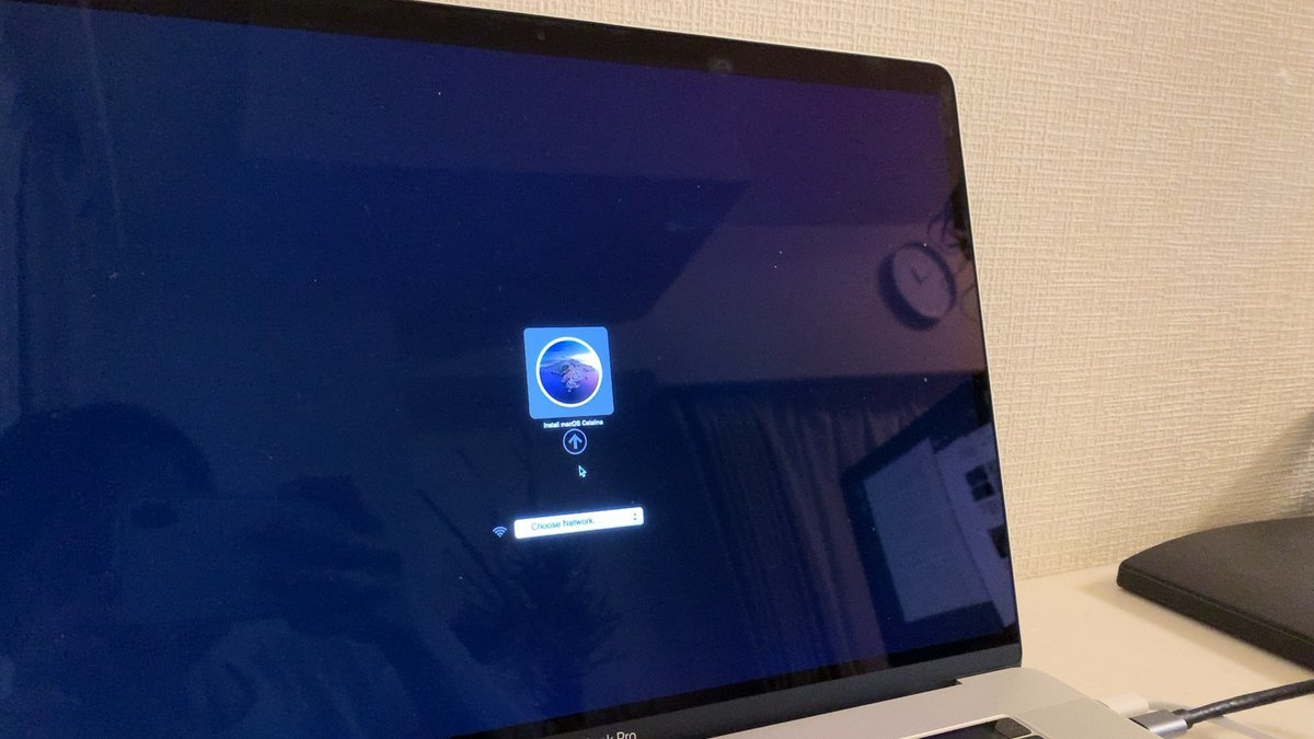 MacをSDカードでOS再インストール
