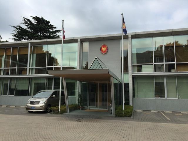 今年後半のタイ王国大使館の休館日です