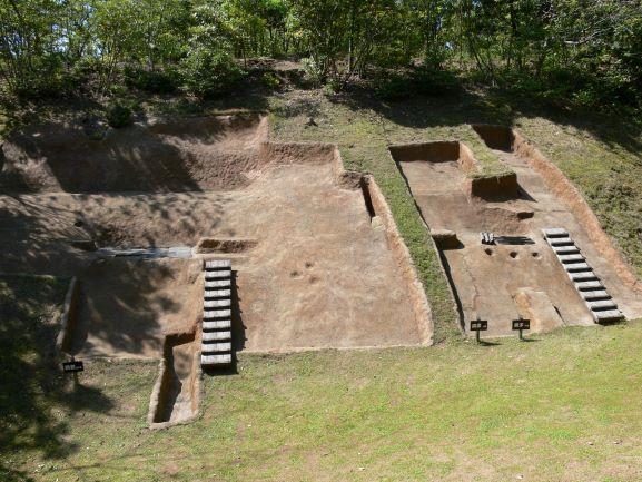荒神谷遺跡の発掘場所