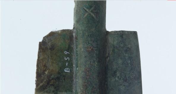 銅剣に刻まれた謎の紋章