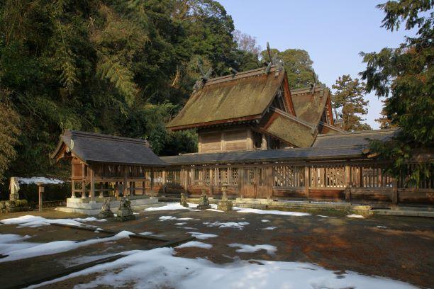 佐太神社の御本殿