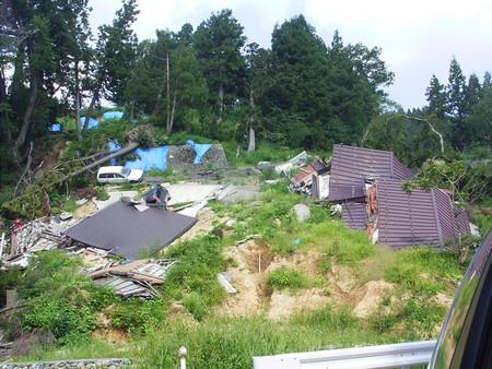 中越地震:もうすぐ1年だけど