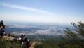筑波山の山頂から