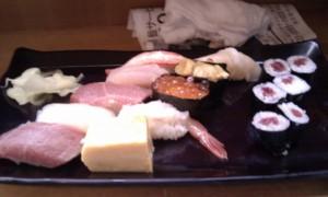 築地でお寿司