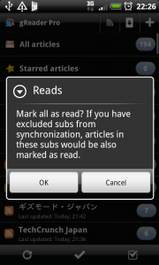 Feed Mark Unread
