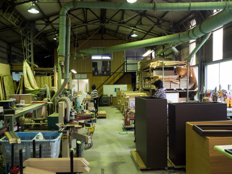 山田木管工業所 工場内風景1