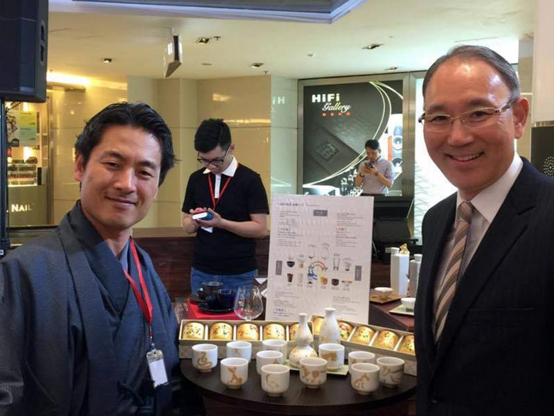 高木正治氏と香港大使領事