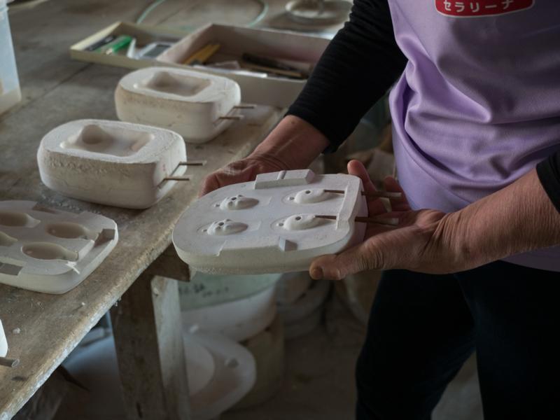 セラリーナ石膏型