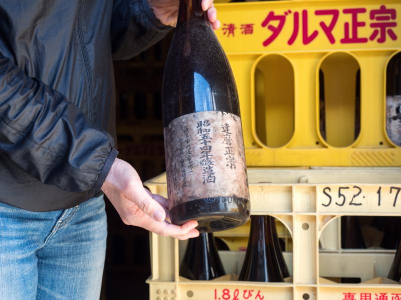 コンテナ内熟成古酒