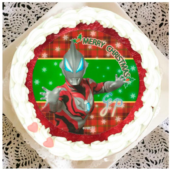 プリロール プリケーキ ウルトラマン クリスマスケーキ ウルトラマンジード