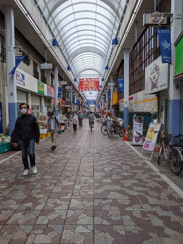横浜橋商店街の写真