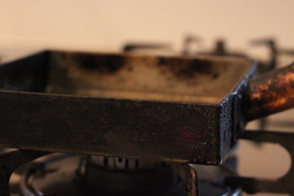 工房アイザワ純銅製卵焼き器3