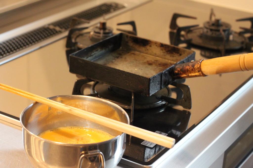 工房アイザワ純銅製卵焼き器4