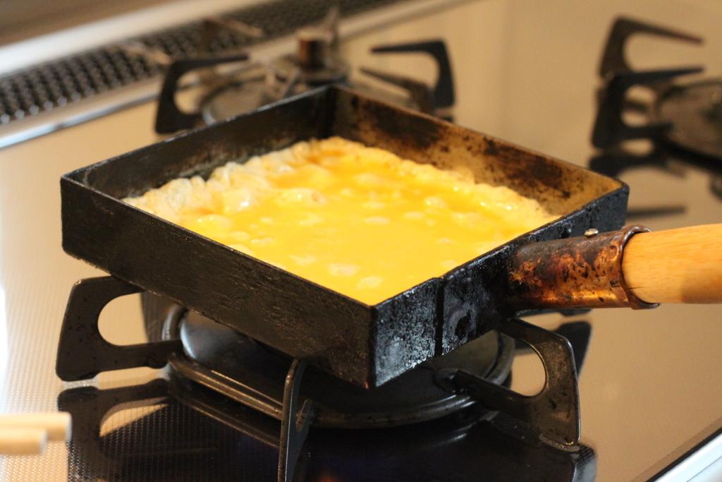 工房アイザワ純銅製卵焼き器5