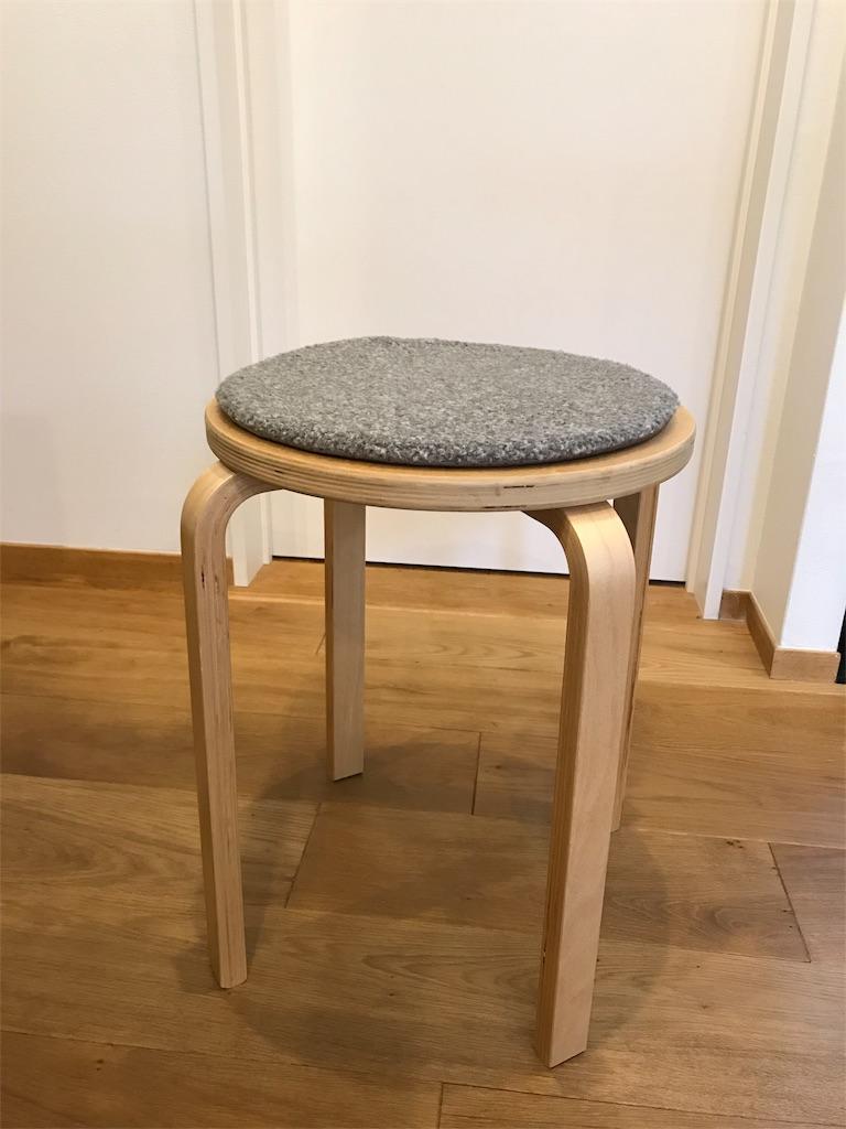 IKEAスツール