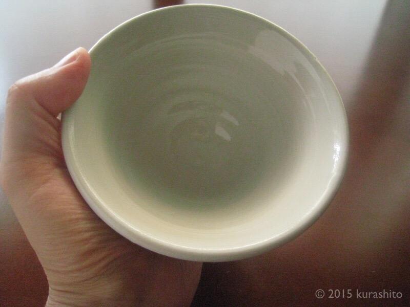 陶芸教室の飯椀