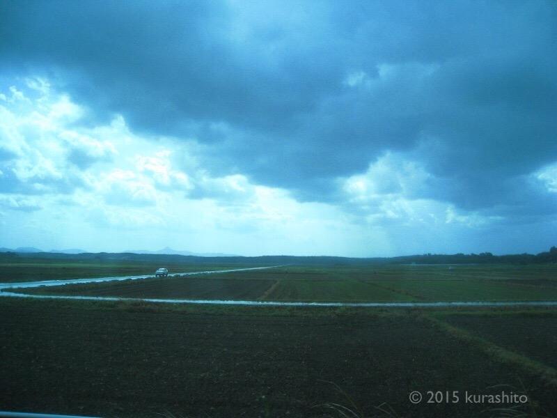 広がる田畑