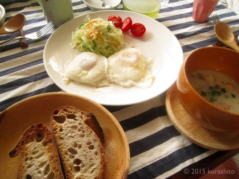 VIRONのパンと我が家の朝食