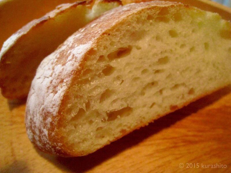 高橋雅子さんの「こねない」パン
