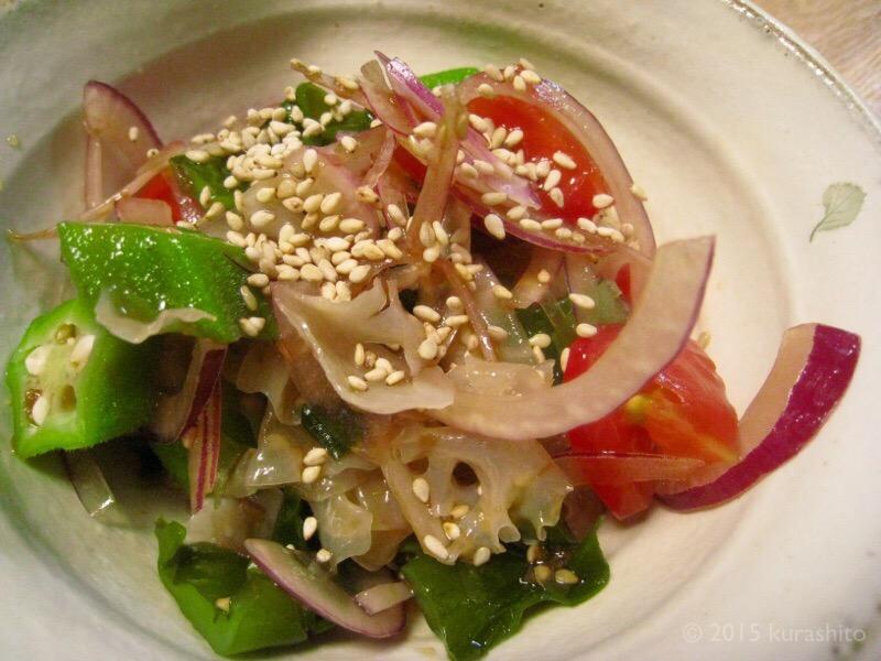 白キクラゲの中華サラダ