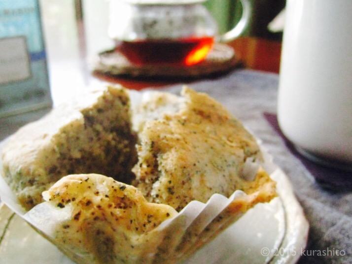 白崎裕子さんのジャムマフィンを紅茶アレンジ。