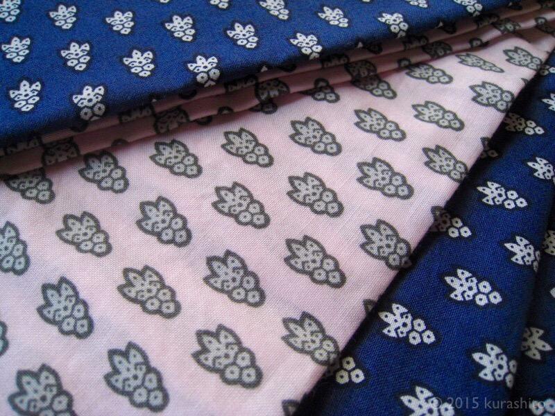 正月準備、枕カバーを縫う
