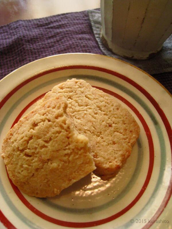 なかしましほさんの「黒糖ココナッツクッキー」