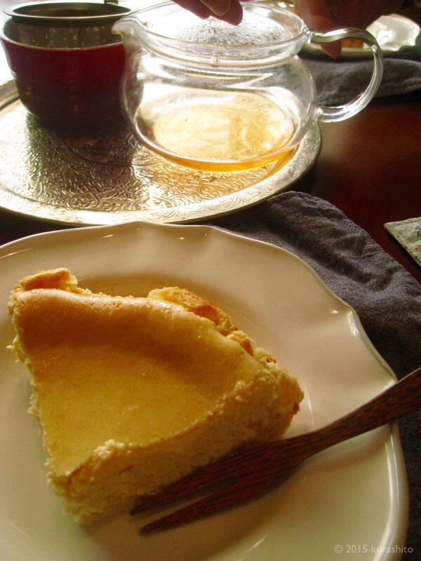 なかしましほさんのヨーグルトチーズケーキ
