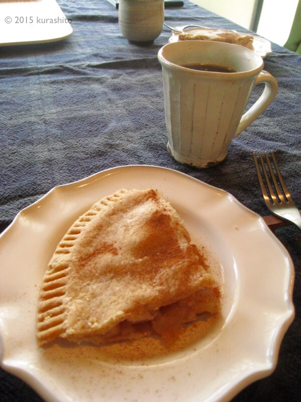 なかしましほさんの、素朴なアップルパイ