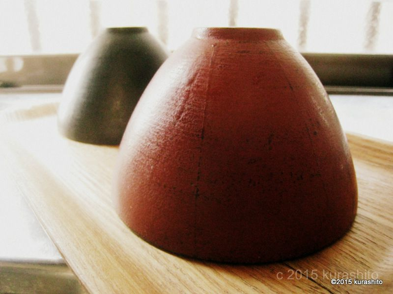 赤木明登さんの、漆器。