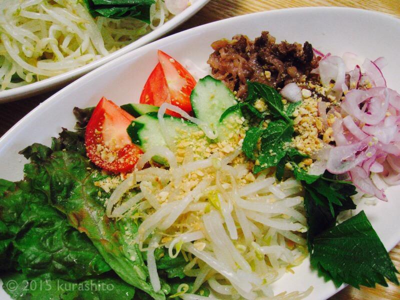 ベトナム風冷麺