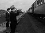 列車の中の人々