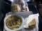 パニーニ500円 スープスパ300円(定価400円) パンの詰め