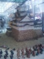 お菓子で出来た姫路城