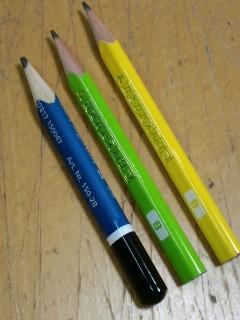 三角の鉛筆