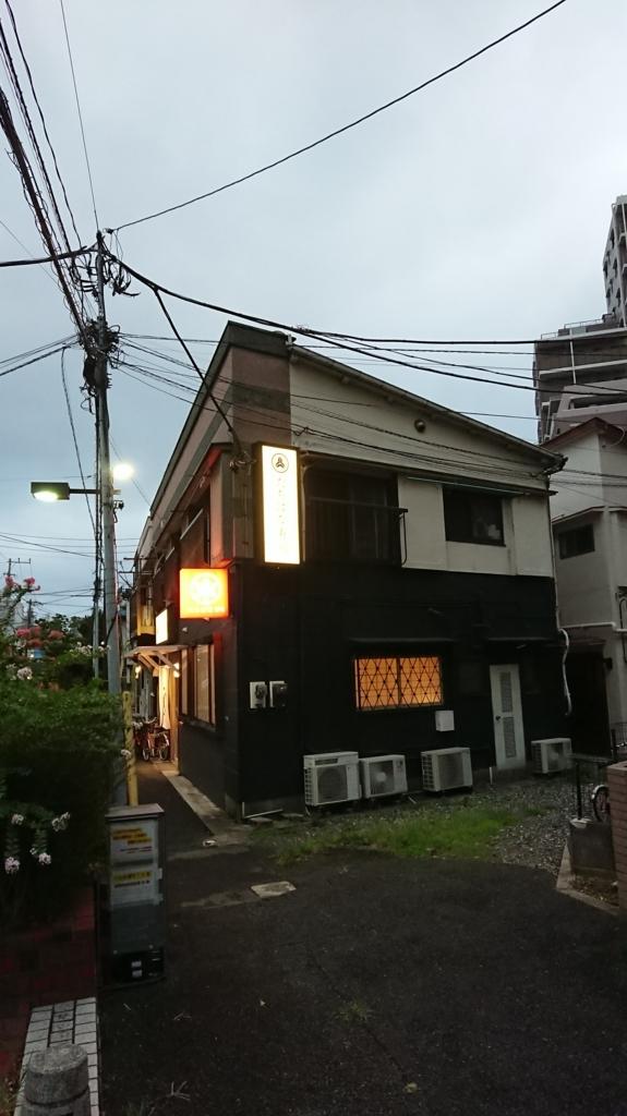 橘寿司の横から見た入口