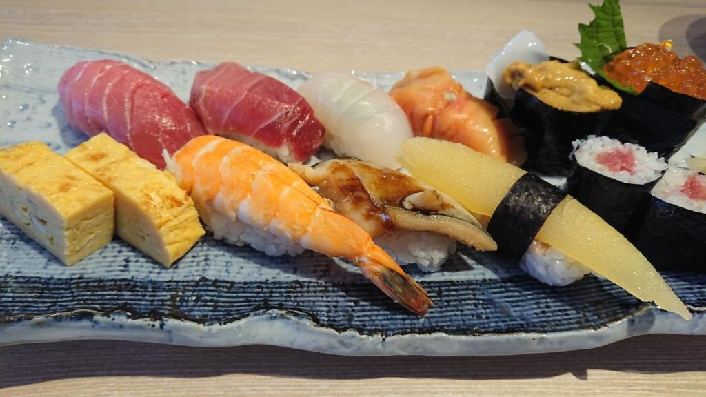 特選寿司にぎりセット