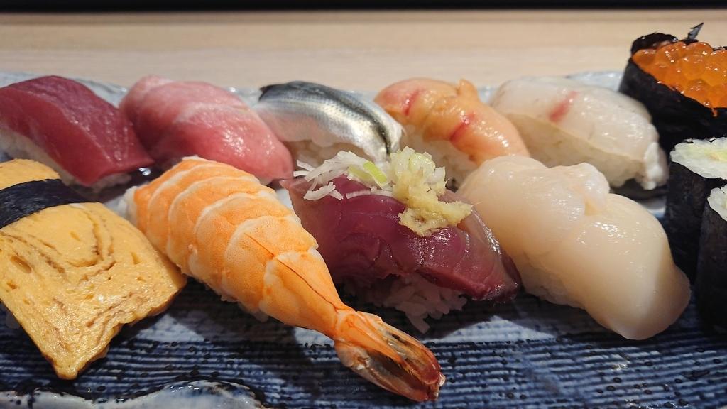 上寿司のにぎりセット