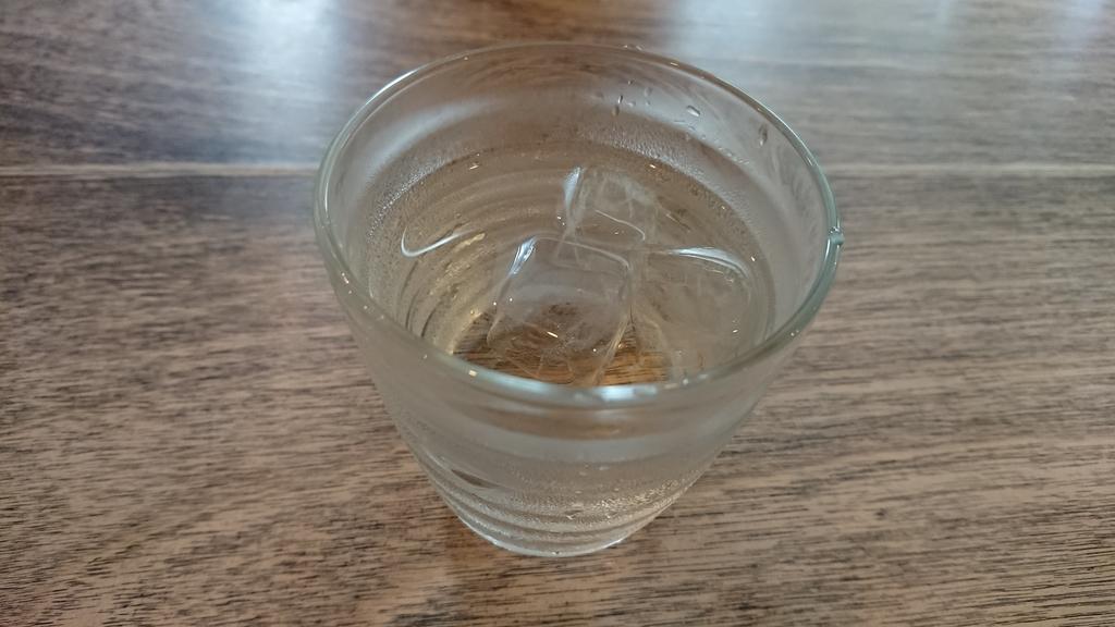 グレープフルーツ味のお水