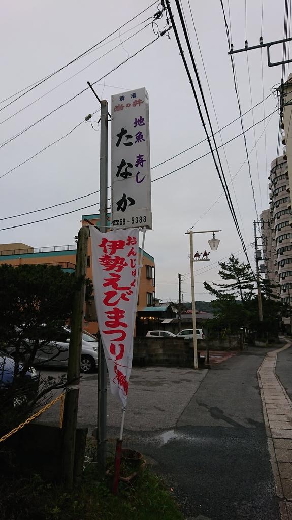 田中寿司の看板
