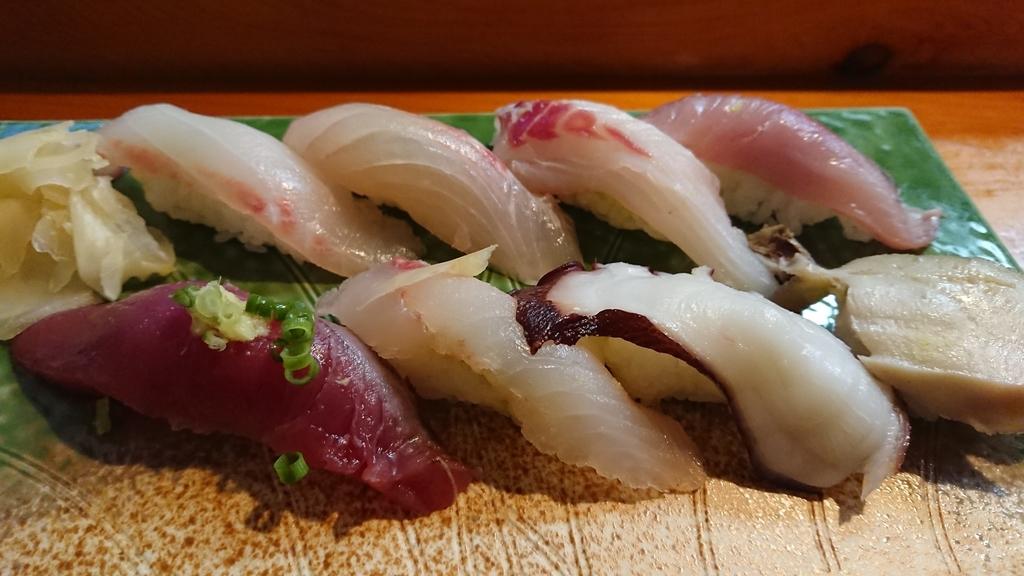 地魚寿司のにぎりセット