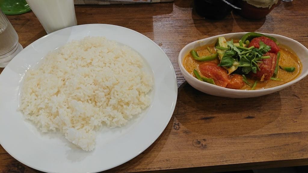 大地の恵みの野菜カリーとライス