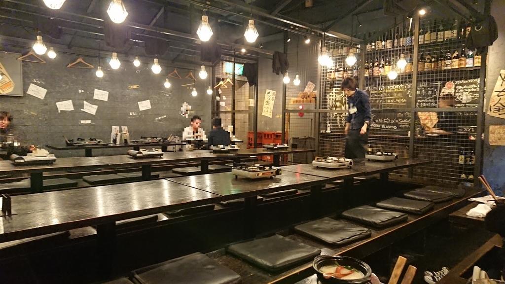 九州料理ぶあいその内観